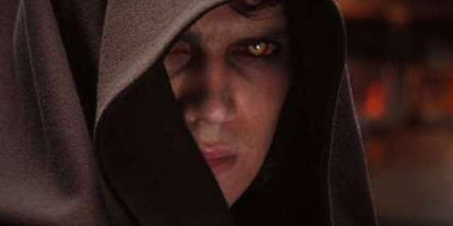 Hayden Christensen as Darth Vader Star Wars Movie
