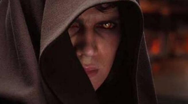 Hayden Christensen as Darth Vader Star Wars Movie