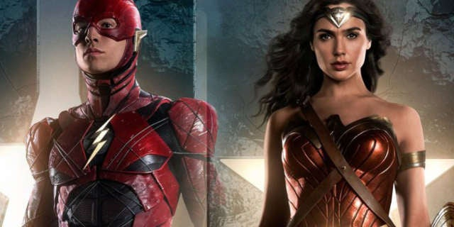Justice-League-The-Flash-Wonder-Woman-Character-Posters