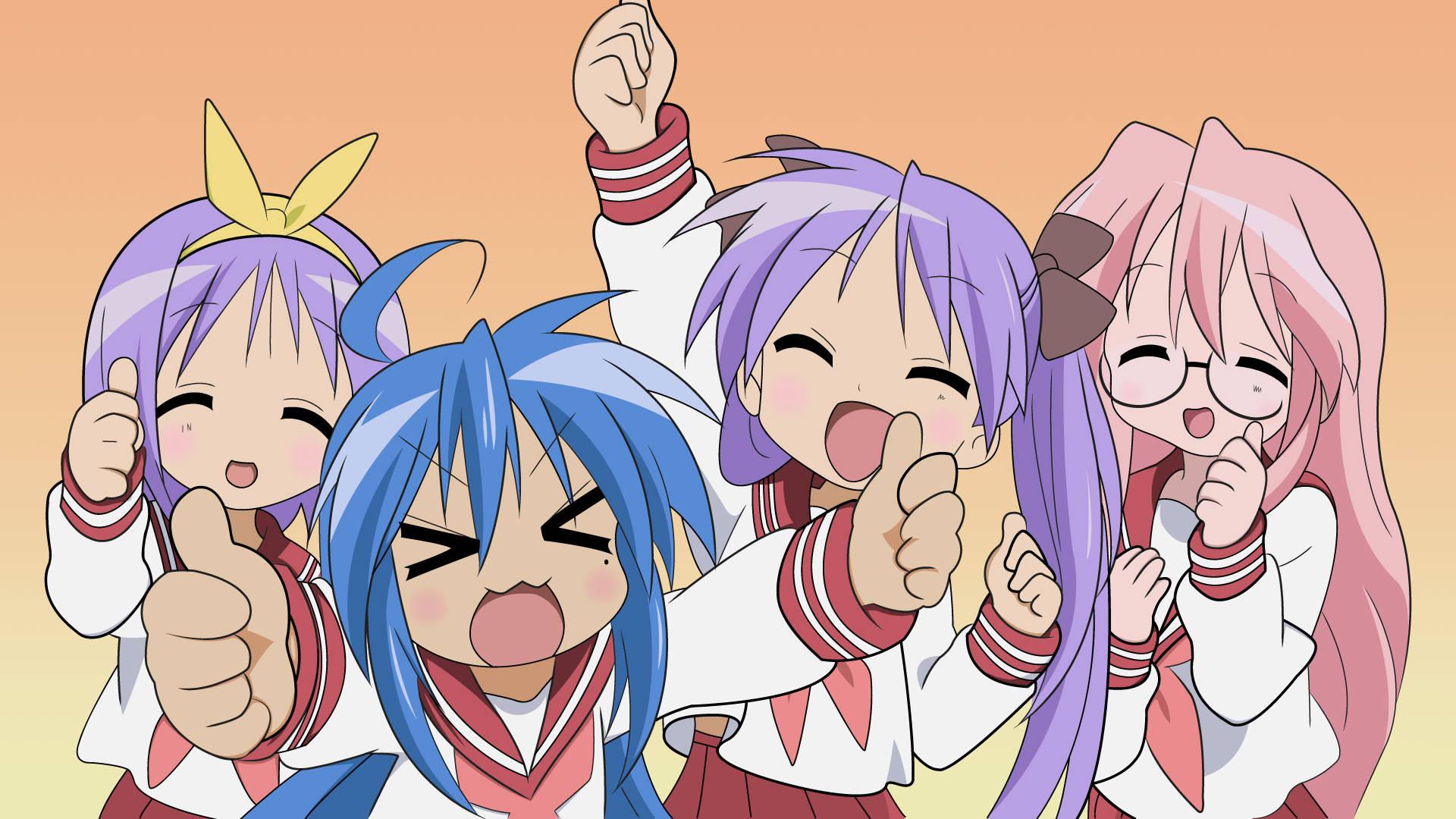 Lucky star anime lucky star anime 1