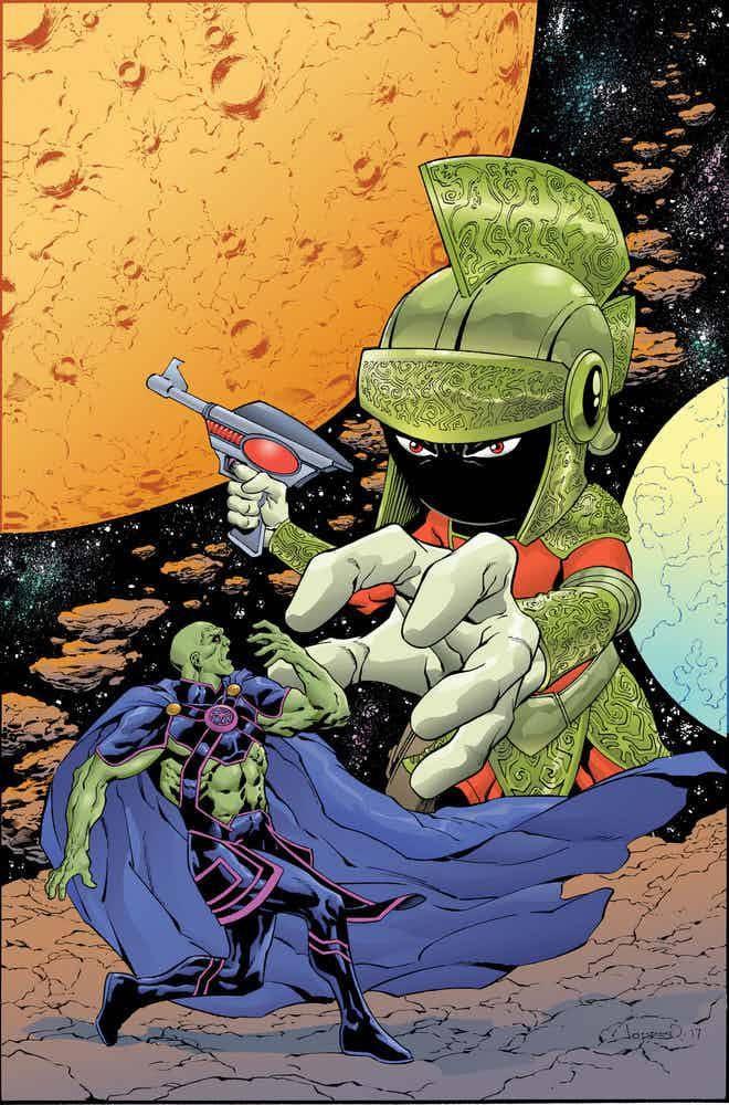 Des variantes et previews pour les crossovers DC/Looney
