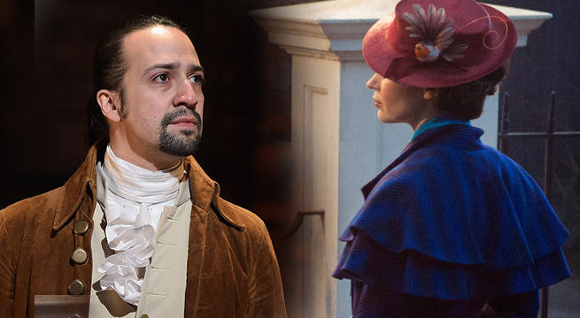 Mary Poppins Sequel Set Photo Reveals Lin-Manuel Miranda In-Character