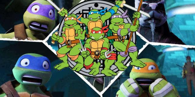 New Teenage Mutant Ninja Turtles Cartoon Reboot Nickelodeon