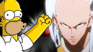 one punch-man-simpsons