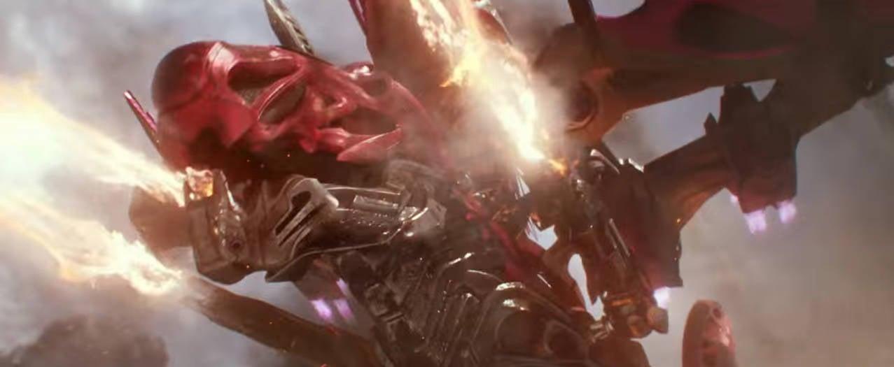 Power-Rangers-Red-Ranger-Zord-Fight