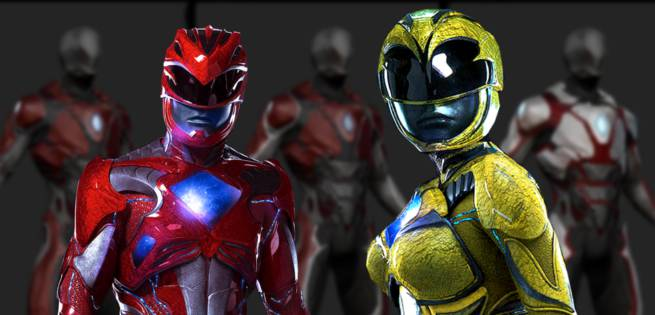 Power Rangers Costume Designs from Rejected Movie Pitch