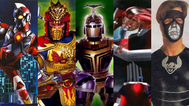 5 Hilarious Power Rangers Knockoffs