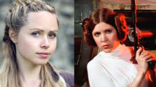 rogue one star wars story princess leia actor ingvild delia interview