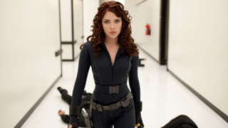 Scarlett Johansson Black Widow Hallway fight scene