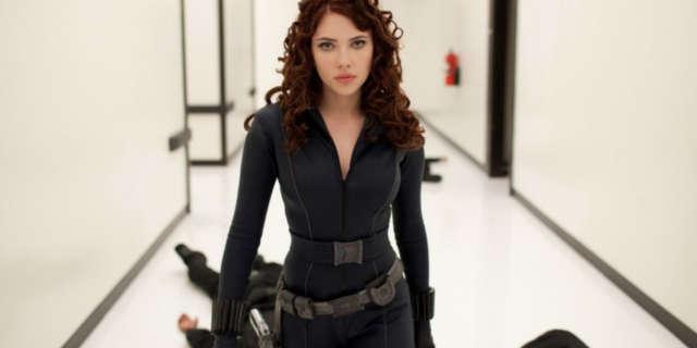 Scarlett Johansson Black Widow Hallway fight scene