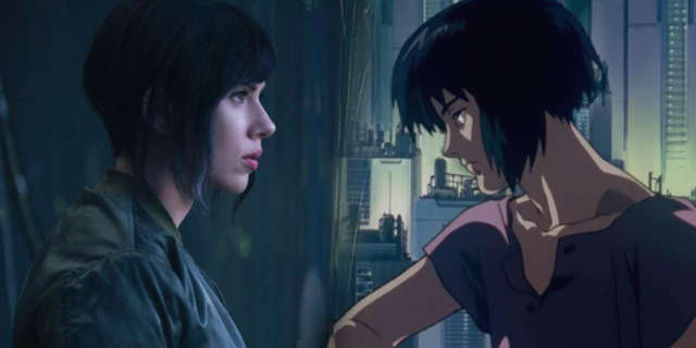 Scarlett Johansson Ghost In Shell Casting Controversy Whitewashing