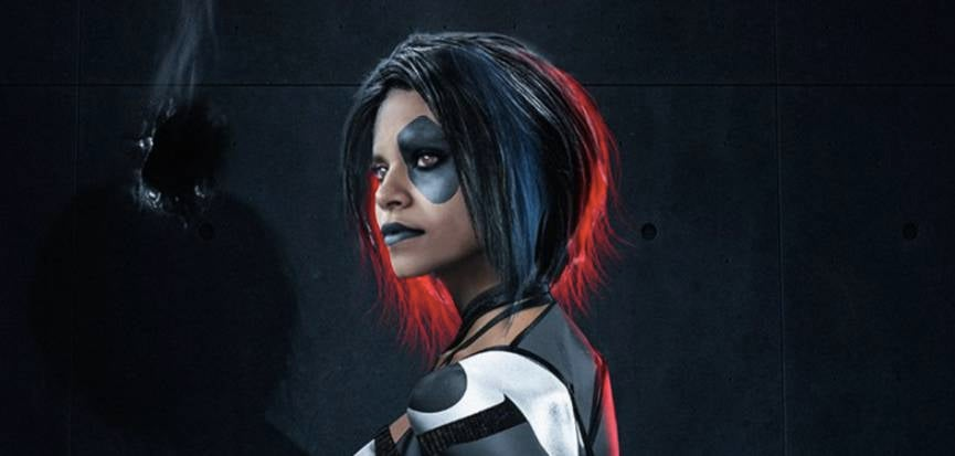 here u0026 39 s what zazie beetz could look like as domino