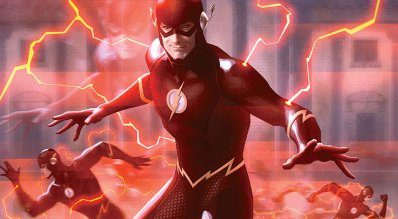 sideshow reveals flash premium art print