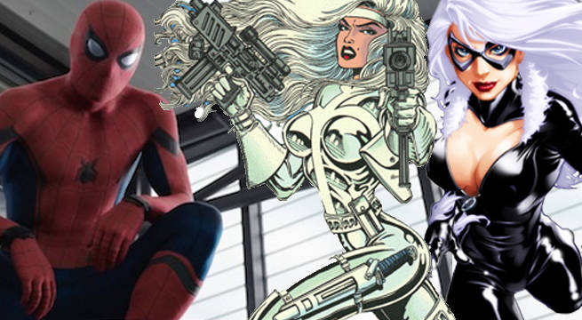 Resultado de imagem para Sony Reportedly Wants To Film Black Cat, Silver Sable