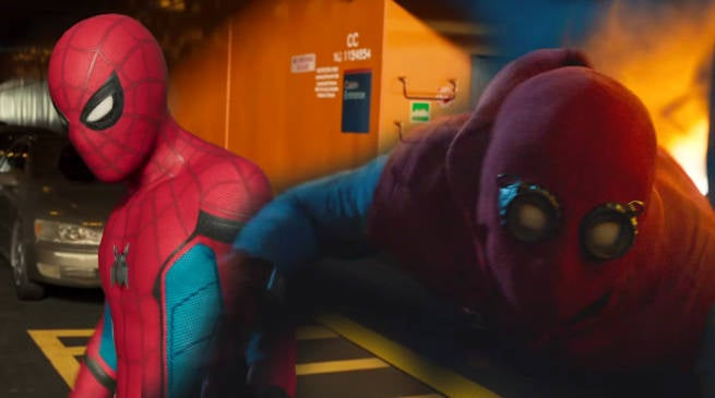 Tom Holland Shares Behind The Scenes Spider-Man Still