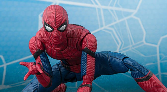 SH Figuarts Reveals New Photos Of Spider-Man: Homecoming Figure