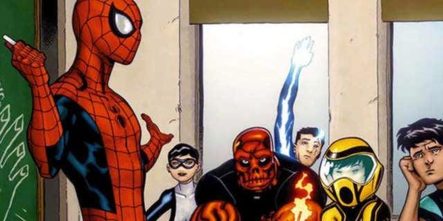 spider man teacher