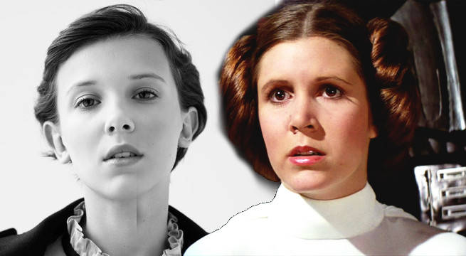 stranger things star wants to play classic star wars character millie bobby brown princess leia
