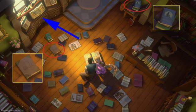 Tangled Disney Movie Easter Eggs via Fanpop.com