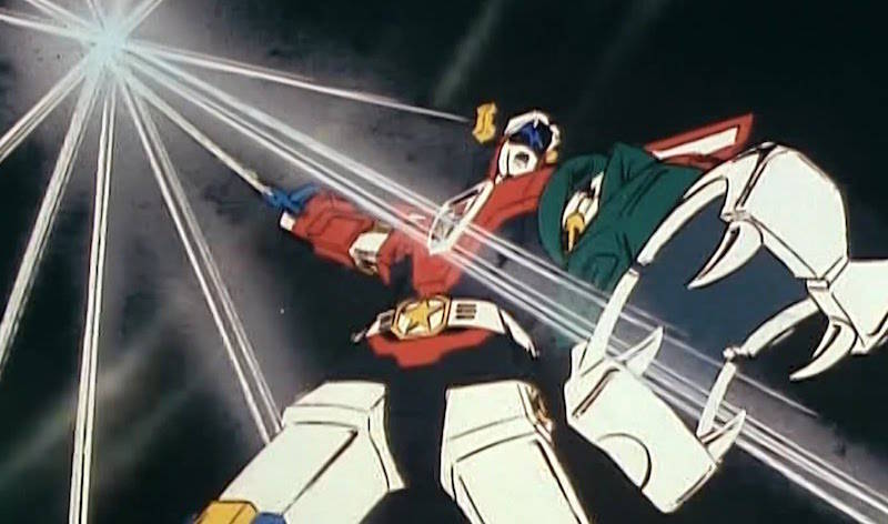 Voltron 80s Cartoon Influenced Power Rangers Zords