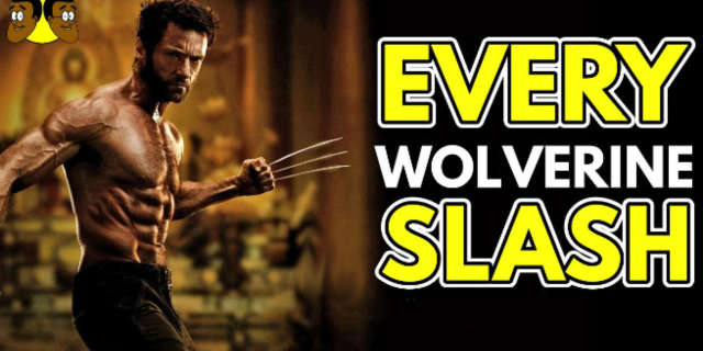 wolverine every slash supercut