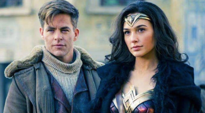 New Wonder Woman Images Pair Up Diana, Steve Trevor