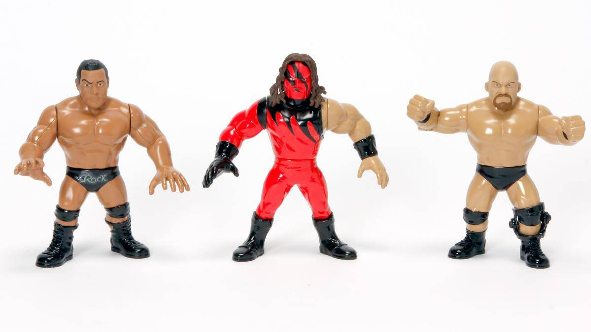 WWE-Mattel-Retro-Figures-Group