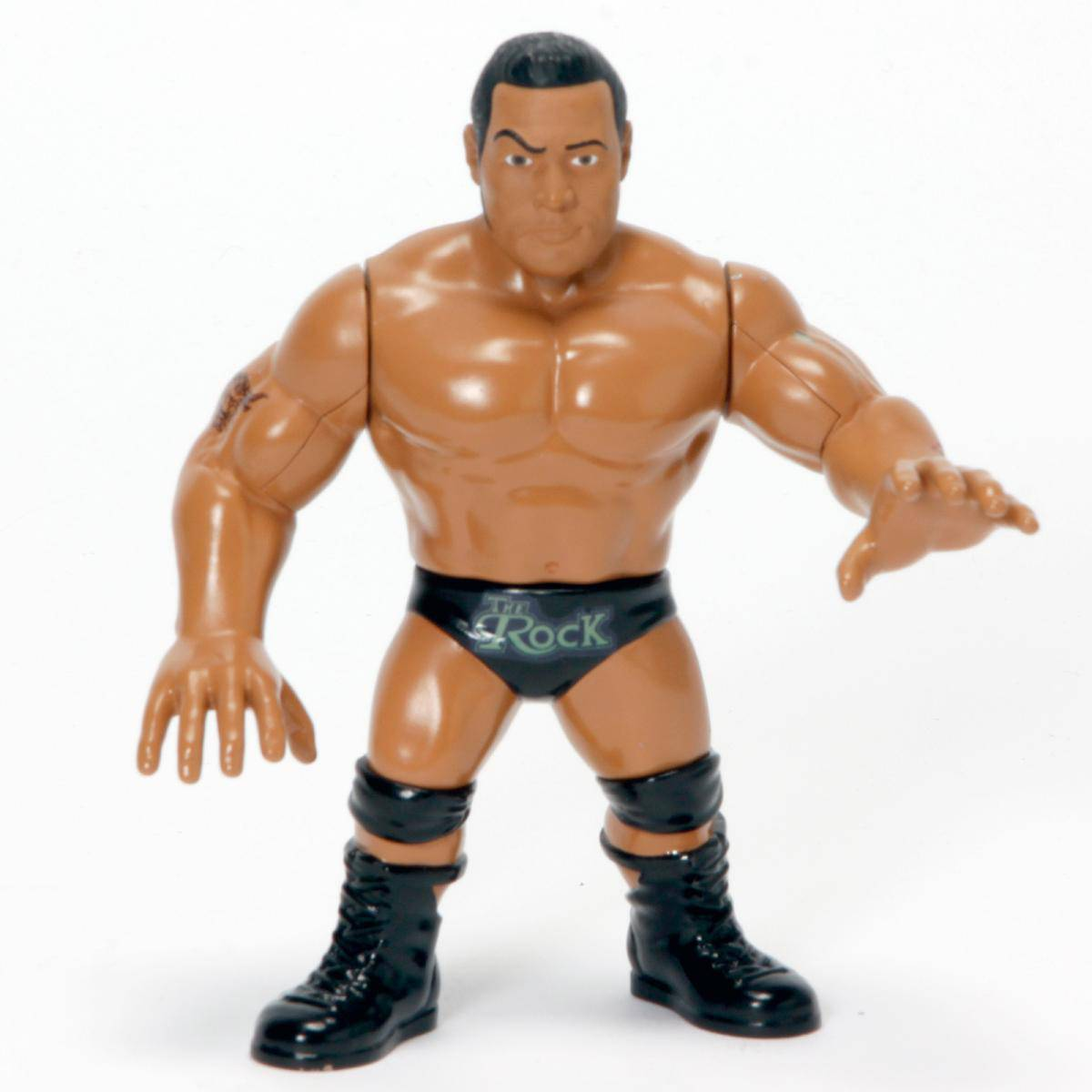 WWE-Mattel-Retro-Figures-Rock