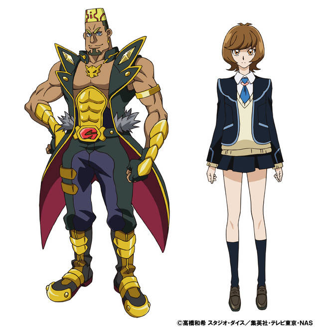 Yugioh Character Design : Upcoming yu gi oh anime reveals new character designs