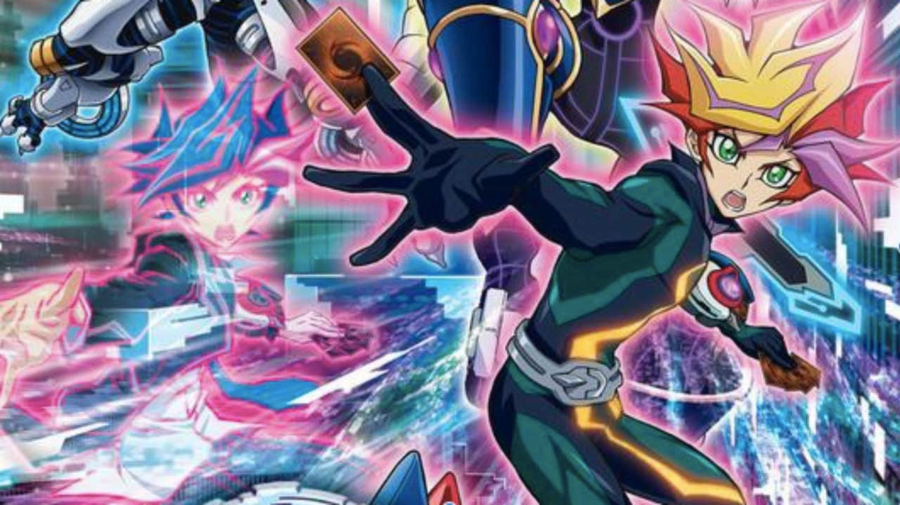 new yu gi oh anime releases plot summary key visual