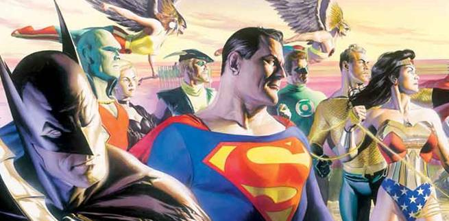 Artist Alex Ross Compares Justice League Poster To Previous Work