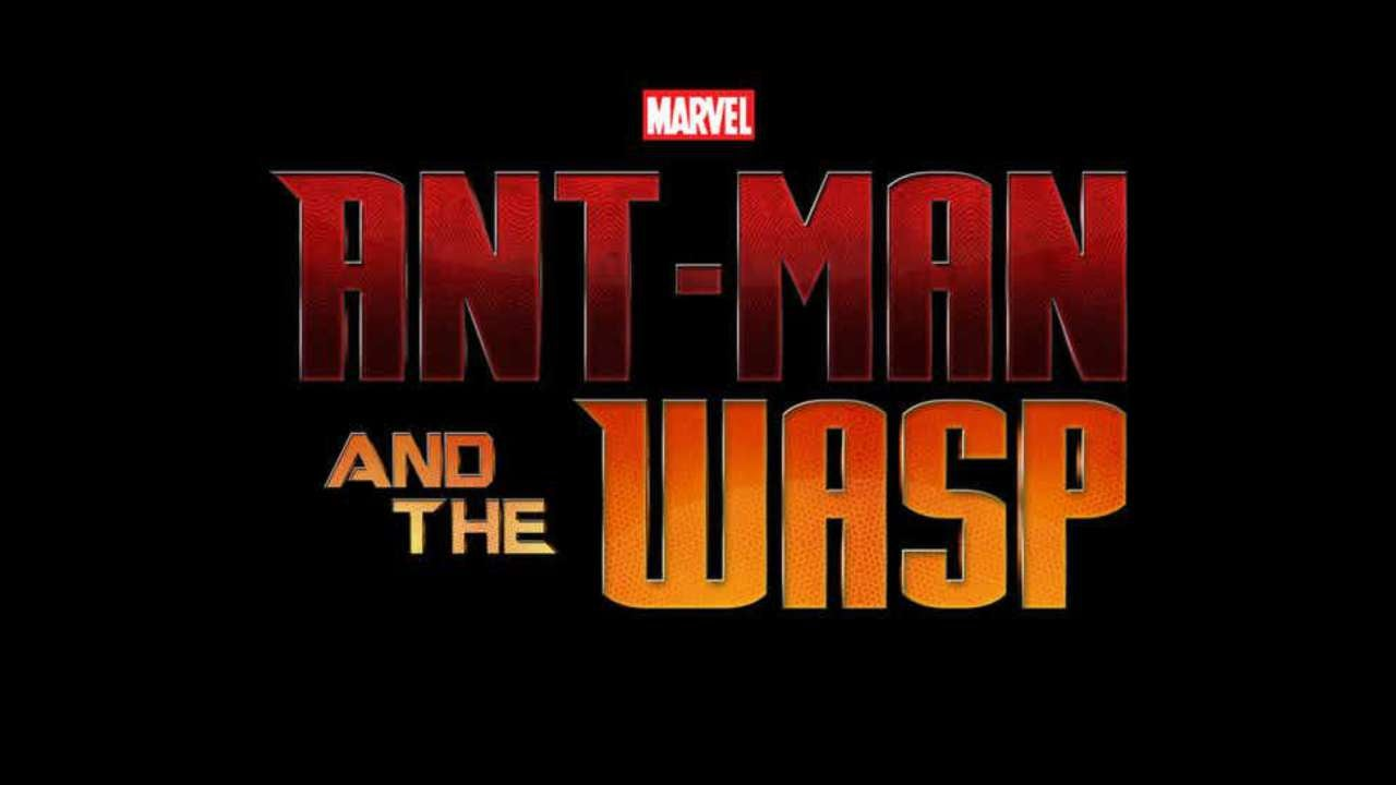 Ant-Man and the Wasp Movie Title Logo