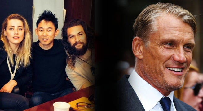 Aquaman Director Welcomes Dolph Lundgren To The Film