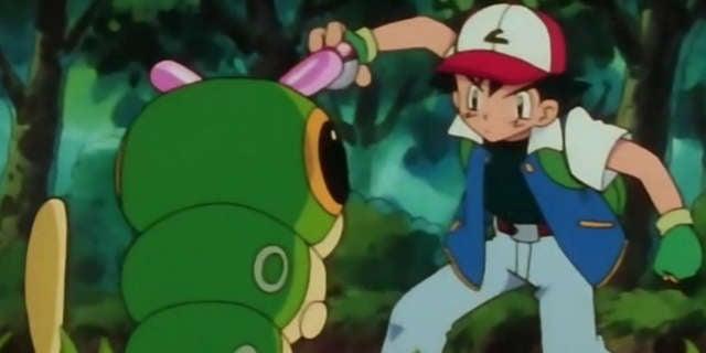 ash catches pokemon header