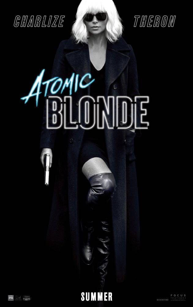 Atomic Blonde movie poster image