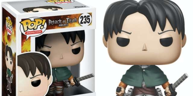 attack on titan levi funko pop