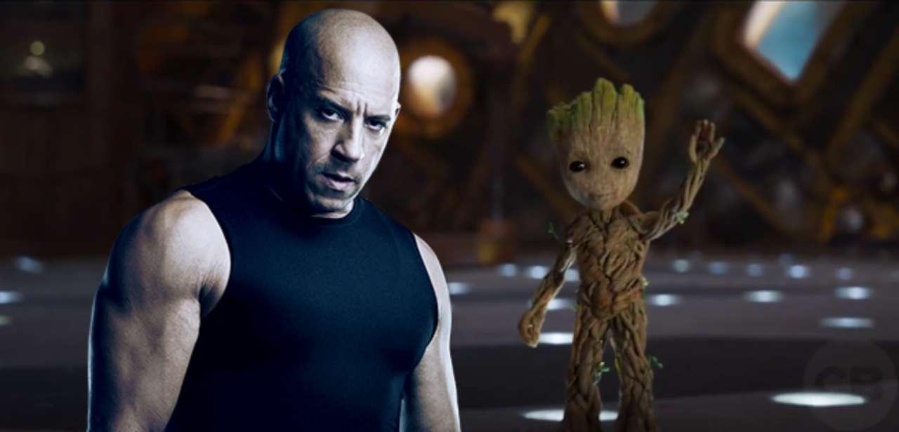 「Baby groot Vin Diesel」の画像検索結果