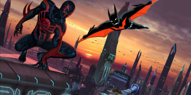 Batman Beyond vs Spider-Man 2099