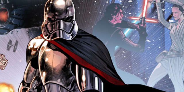 captain phasma star wars the last jedi marvel comic
