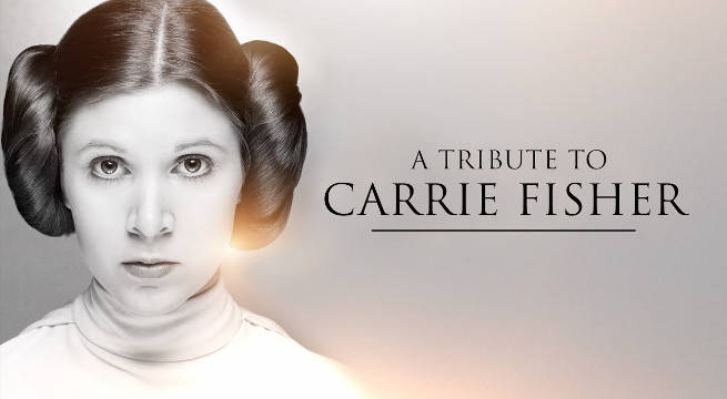 Carrie Fisher Star Wars 40th Anniversary Tribute Video