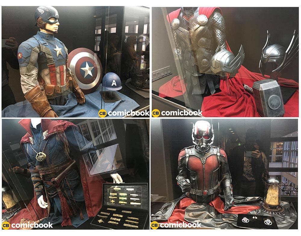 Costumes Marvel Studios