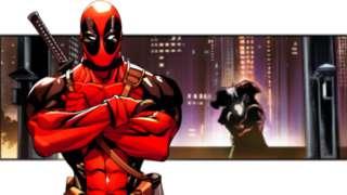 Deadpool Rogue Kiss