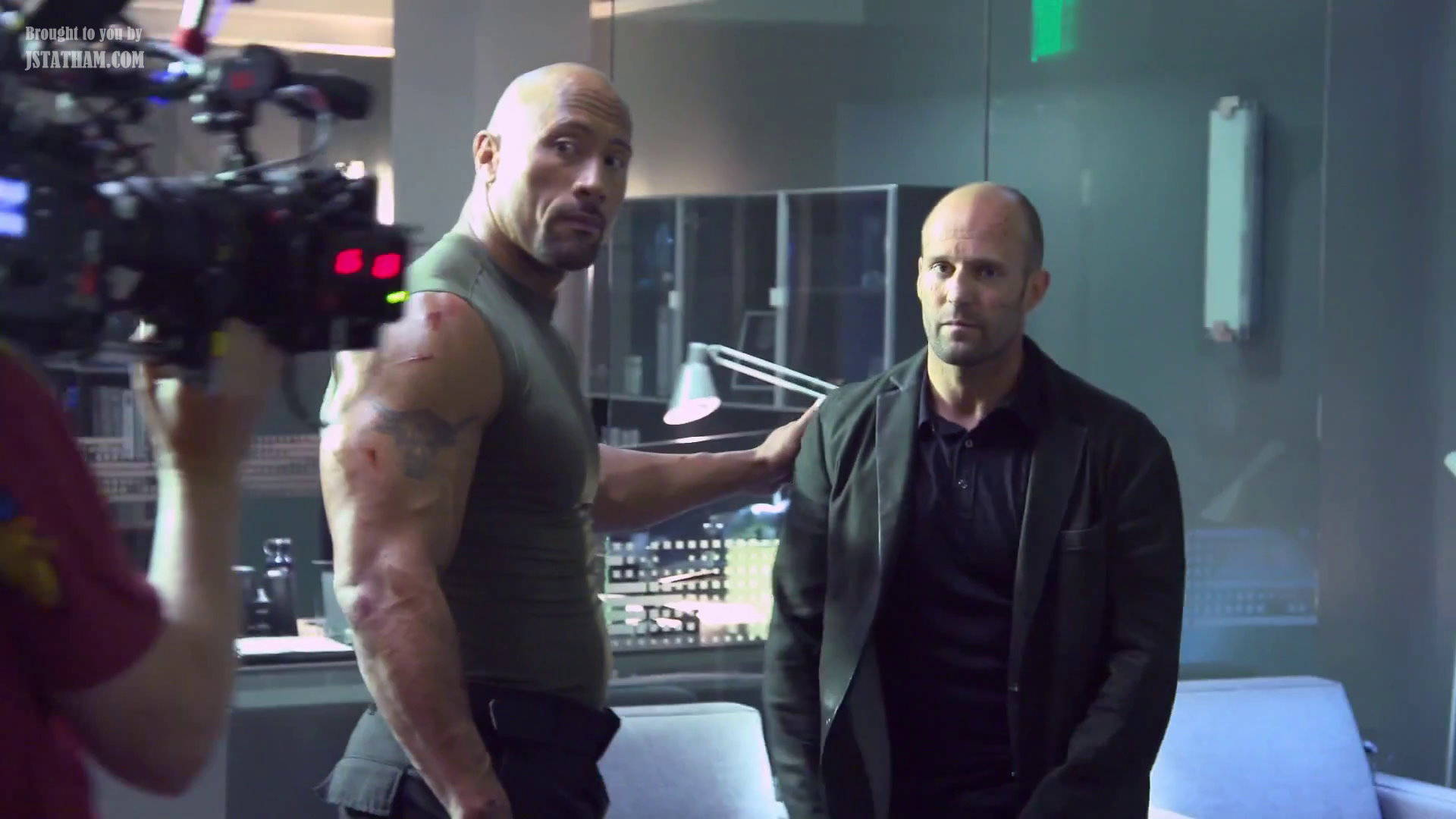 'Fate of the Furious' Director Is Down for Jason Statham and The Rock Spinoff