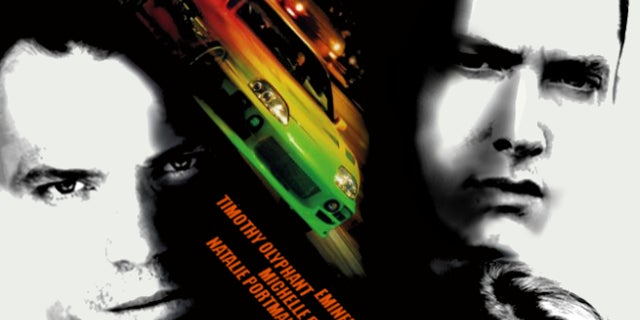 Fast and the Furious Poster Original Cast