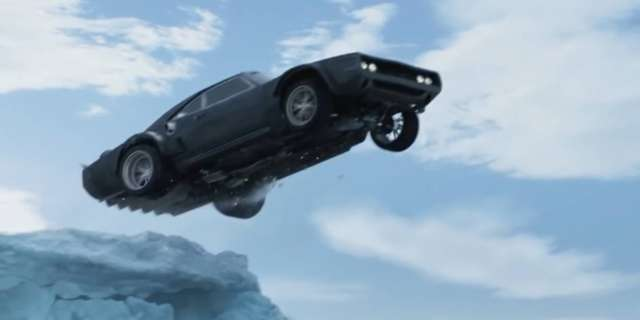 Fate of the furious 8 Dodge Ice Charger