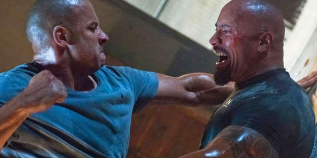 Fate of the Furious 8 Vin Diesel Dwayne Johnson Feud Real or Fake