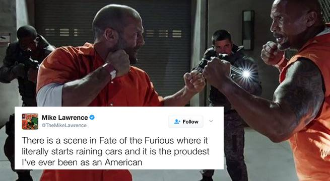 The Internet Is All About The Fate Of The Furious Right Now