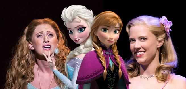 Frozen Musical Casts Elsa And Anna