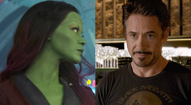 Will Gamora And Tony Stark Hook Up In Avengers: Infinity War?