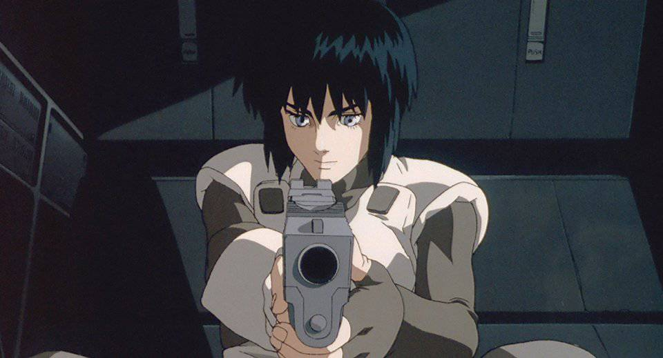 Ghost In A Shell Anime